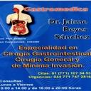 Dr. José Jaime Cirugía Gastrointestinal, Cirugía Laparoscópica, Gastroenterología