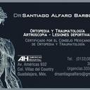 Dr. Santiago Alfaro Ortopedia y traumatología - artroscopia.